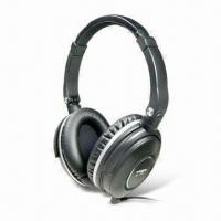 Buy cheap Active Noise-canceling Headphones with 16dB in 100 to 320Hz Maximum Noise Reduction Level from wholesalers