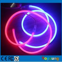 Buy cheap led neon rope light 8*16mm rgb flex neon light with 220/110 voltages from wholesalers