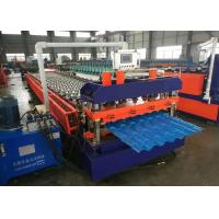 Buy cheap Metal Roofing Sheet Rolling Former Machine , Cold Roll Forming Machine from wholesalers