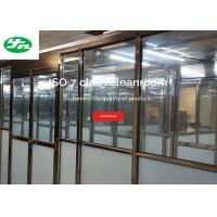 Buy cheap FDA GMP ISO 7 Clean Room Booth Available As Single Pass Or Recirculating from wholesalers