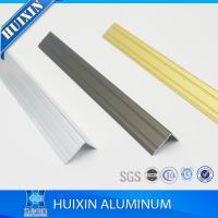 Buy cheap 6000 Series Aluminum Edge Protection and Transition Profiles with L Shape from wholesalers