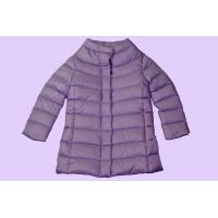 Buy cheap Purple Thin Packable Lightweight Down Jacket Duck Feather Outerwear For Kids product