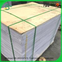 Buy cheap Hot sale 1mm 1.2mm 1.5mm 2mm grey cardboard in sheets from wholesalers