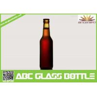 Buy cheap 330ml Long Neck Glass beer bottles wholesales, Amber glass beer bottle from wholesalers