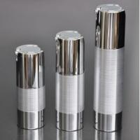 Buy cheap High quality airless pump metal bottles 15ml-30ml-50ml from wholesalers
