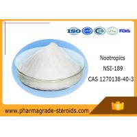 Buy cheap High Purity Pharmaceutical Raw Materials Nootropics NSI-189 CAS 1270138-40-3 from wholesalers