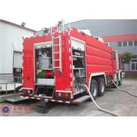 Mercedes Chassis Light Fire Truck 6 Seats Pump Flow 140L/S With Electrical System