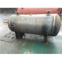 Buy cheap Horizontal Stainless Steel Air Receiver Tanks For Machinery Manufacturing / Textile Industry product