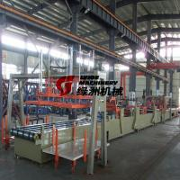 Buy cheap Full automatic Mgo Board Production Line / Gypsum Board Hole Punching Machine from wholesalers