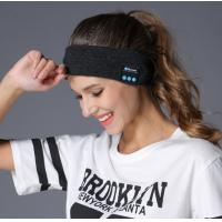 Buy cheap Wireless Bluetooth Headphones Hats Sports Yoga Dance Biker Hair Bands Absorb Sweat Headband Built-in Speakers and Mic from wholesalers