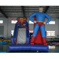 Buy cheap inflatable spider man bouncy castle inflatable playground inflatable bouncer castle combo from wholesalers