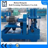 Buy cheap 8 - 12m / Min Speed Sheet Metal Rolling Machine, C U Metal Roofing Roll Former from wholesalers