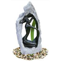 China Outside Garden Statue Water Fountains With Fiberglass / Cement / Magnesia Material on sale