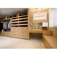 Buy cheap Modern Design Walk In Closet Wardrobe Plywood MDF Material Custom House Furniture from wholesalers