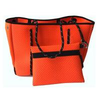 Buy cheap neoprene Material and Women Gender neoprene perforated bag. 3.5mm neoprene,  size is  41cm x 28cm x 25.5 cm from wholesalers
