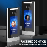 Buy cheap HTTP/MQTT IP66 5inch Face Scanner Attendance System from wholesalers