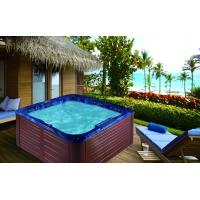 Buy cheap Hydromassage hot tubs with 2 lounger for sale 1803 from wholesalers