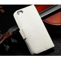 Buy cheap Flip Cell Phone Wallet Cases With Card Holder, Lichee Pattern Leather Phone Case from wholesalers
