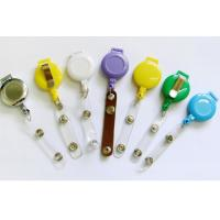Buy cheap Eco Friendly Carabiner Retractable Badge Holder With Abs Material from wholesalers