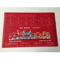 Buy cheap Office Smooth Rubber Desk Pad Calendar Table Mat with large Size from wholesalers