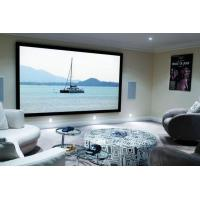 Buy cheap Home Cinema 150 Wall Mount Fixed Frame Projector Screen With HD Matte White from wholesalers