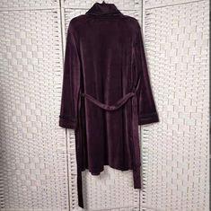 Buy cheap Elegant Women Pyjama Set , Deep Purple Velour Ladies Nightwear Set product