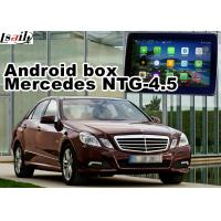 Buy cheap Mercedes benz E class Automobile GPS Navigation Systems video interface from wholesalers
