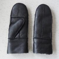 Buy cheap Men / Women Winter Warm Leather Mitten Gloves Customized Size Fashion Hand Made from wholesalers