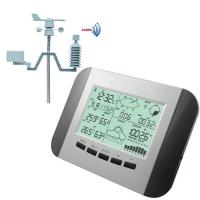 Buy cheap 100M Professional Weather Station Thermometer Humidity Rain Pressure Data Recorder With PC Solar Power Wireless Weather from wholesalers
