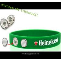 Buy cheap custom 1 inch wide fat silicone wristbands silicone rubber wristband for club, sport team from wholesalers