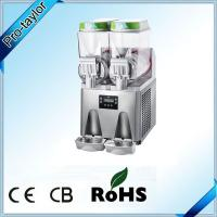 Buy cheap Stainless steel 2 bowls commercial slush machine from wholesalers