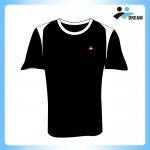 Buy cheap China supplieer cheap dry fit polyester custom short sleeves t shirt, custom logo t-shirt, running jersey custom from wholesalers