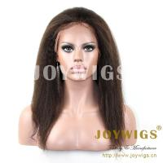 Buy cheap 2013 Top fashion Hot sale best quality 100% Brazilian virgin human hair kinky twist wigs from wholesalers