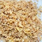 Buy cheap Healthy 30*30mm Crunchy Fried Onions For Steak from wholesalers