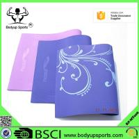 Buy cheap custom eco friendly anti-slip TPE yoga mat manufacturer from wholesalers