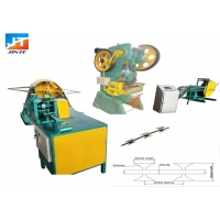 Buy cheap 3T Five strip Razor Blade Barbed Wire Making Machine from wholesalers