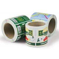Buy cheap Printed Self Adhesive Paper Custom Sticker Labels in Roll Recycled from wholesalers