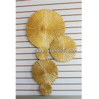 Buy cheap Hot Sale modern Abstract Wood Carving Wall arts 3d Wall Art Panels from wholesalers