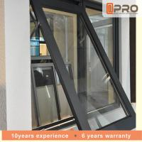 Buy cheap Horizontal Aluminium Awning Windows Swing Open Style 1-2MM Profile Thickness from wholesalers