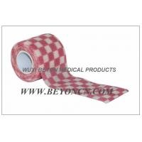 Buy cheap OEM Printed Cohesive Non Woven  Bandage Elastic Wrap For Fixation from wholesalers