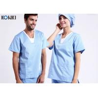 Buy cheap Anti Chlorine Medical Uniforms / Healthcare Uniforms Hospital Use from wholesalers