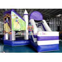 Buy cheap Snow White Inflatable Bouncy Castle / Theme Inflatable Jumping Castle For Fun from wholesalers
