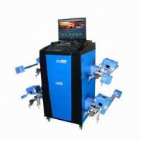 Buy cheap Wheel Aligner with 110 to 220V, 50Hz Power Supply and Microsoft Windows XP Operating System product