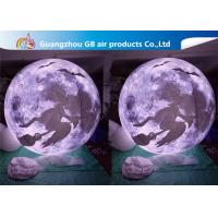 Buy cheap Multi - Color Inflatable Lighting Decoration Blow Up Moonlight Ball Air Balloon product