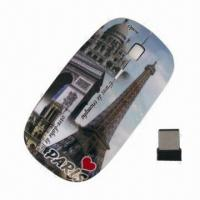 Buy cheap OEM Ergonomic Design Built-in USB Dongle RF 2.4G Optical Wireless Mouse, Easy to Handle from wholesalers