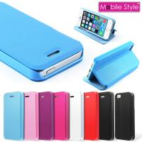 Buy cheap Ultra Thin Pink Leather Flip Iphone 5 Protective Case , Apple Iphone 5s Cover from wholesalers