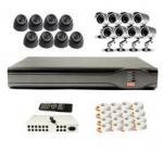 Buy cheap 4CH CCTV DVR Kit 8 IR Cameras H.264 CCTV System CEE-DVR-7104 C035 from wholesalers