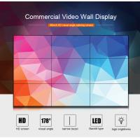 Factory hot sale 46 inch 8x8 large video wall indoor 1.7mm narrow bezel 1920x1080 FHD full hd seamless lcd video wall