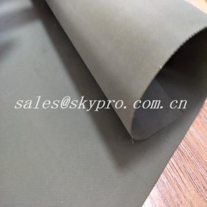 Buy cheap Custom Wear Resistant Hypalon Rubber Sheet Neoprene Fabric Roll , Hardness 68±5 product