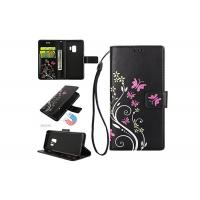 Buy cheap Flower Leather Flip Cover For Samsung Galaxy S9 / Ultra Slim Women Wallet Case from wholesalers